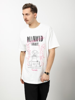 Tričko Diamond Supply Co. Stewie'S Diamond Cabaret (white)