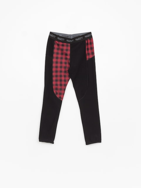Spodní prádlo Majesty Srface Lady Pants Lumberjack Wmn (red/black)