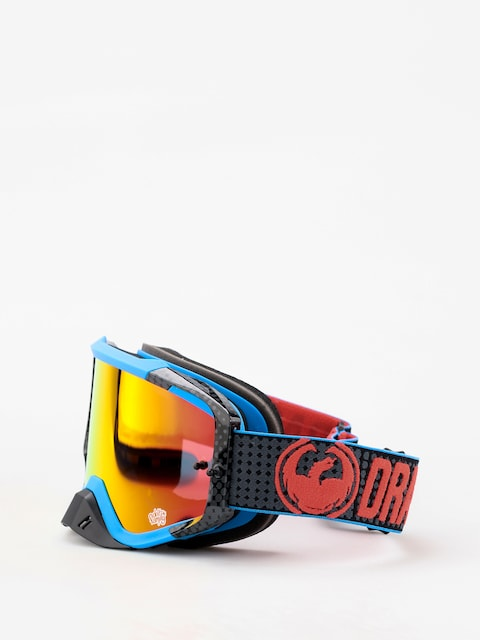 Brýle na snowboard Dragon MXV MAX (nateadams/lumalens red ion clear)