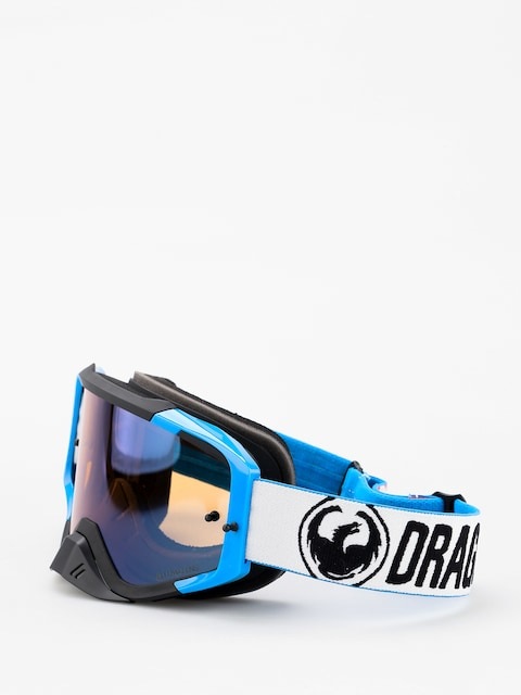 Brýle na snowboard Dragon MXV MAX (factory/lumalens flash blue clear)