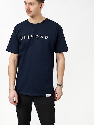 Tričko Diamond Supply Co. Marquise (navy)