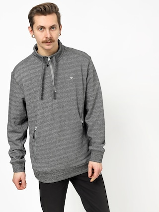 Mikina z kapturem Diamond Supply Co. Diamante Mock Neck (heather grey)