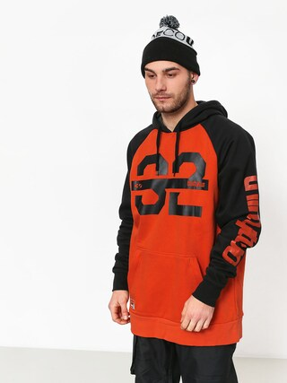 Mikina s kapucí ThirtyTwo Marquee HD (orange)