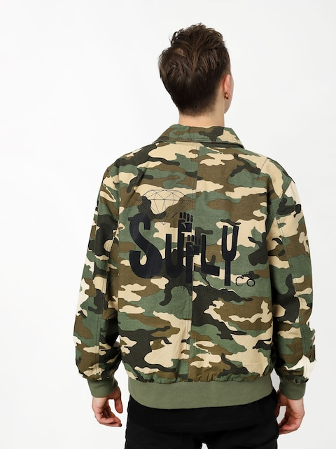 Bunda Diamond Supply Co. Bomber (camo)