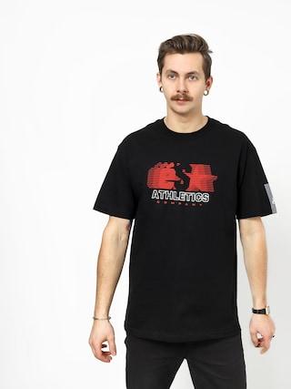 Tričko Es Athletic Co (black)
