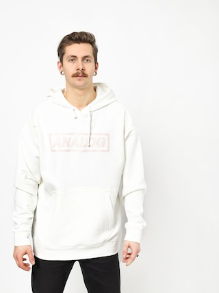 Mikina s kapucí Analog Crux HD (stout white)
