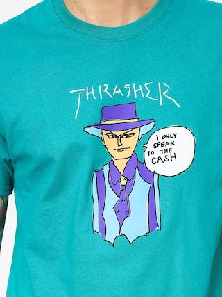Tričko Thrasher Gonz Cash (jade)