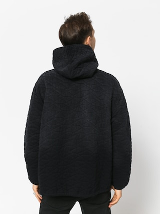Mikina s kapucí Diamond Supply Co. Quilted HD (black)