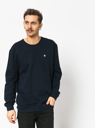 Mikina Brixton B Shield Crew (navy)