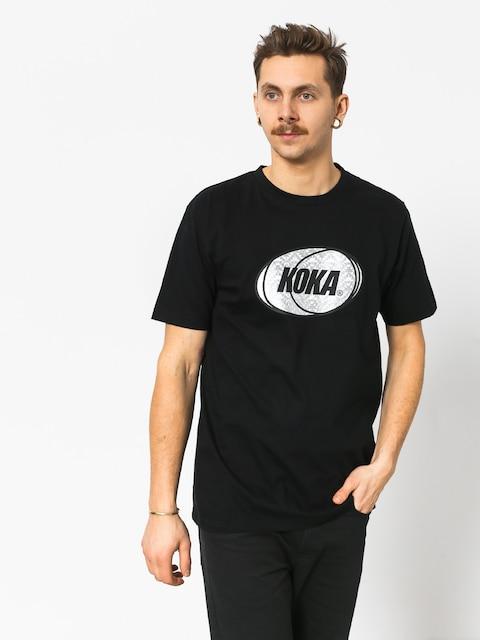 Tričko Koka Rnbw (black)