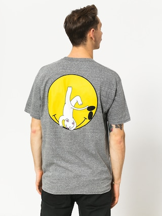 Tričko RipNDip It Wont Be Ok (heather grey)