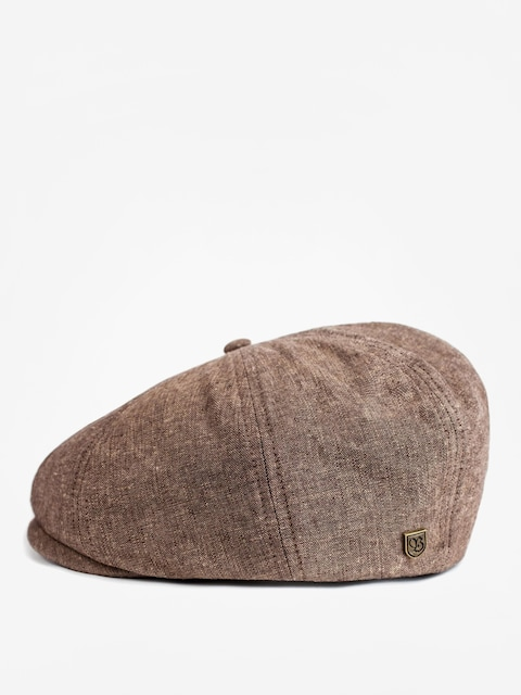 Klobouk s kšiltem Brixton Brood Snap ZD (light brown)