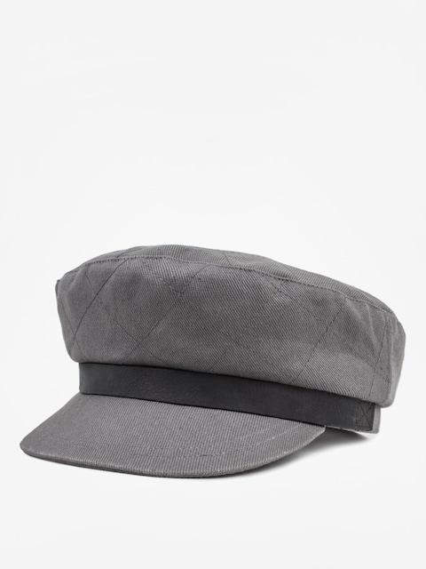 Klobouk s kšiltem Brixton Bosmanka Bent ZD (grey)