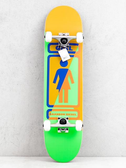 Skateboard Girl Skateboard Biebel 93 Til (brown/green)