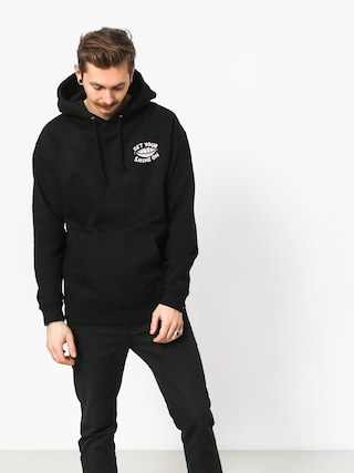 Mikina s kapucí Diamond Supply Co. Shine On (black)