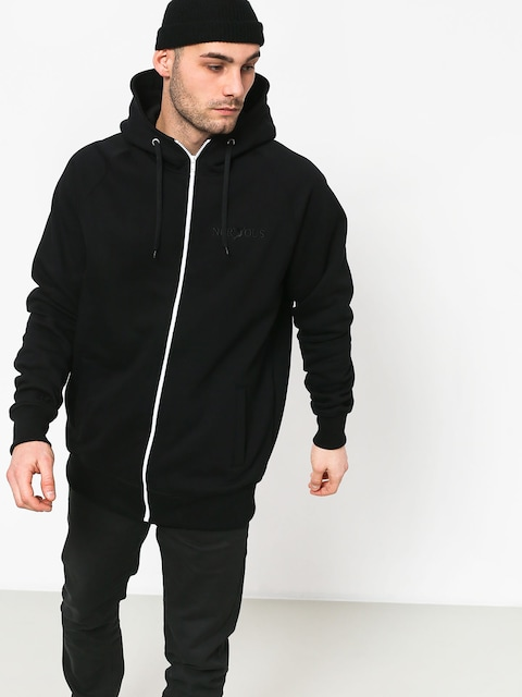 Mikina s kapucí Nervous Classic Sl ZHD (black)