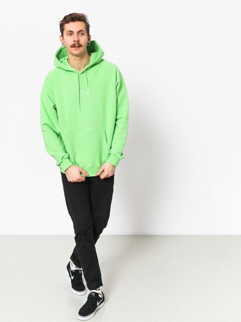 Mikina s kapucí Polar Skate Default HD (summer green)