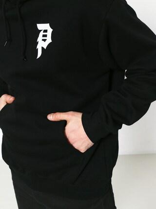 Mikina s kapucí Primitive Dirty P HD (black)