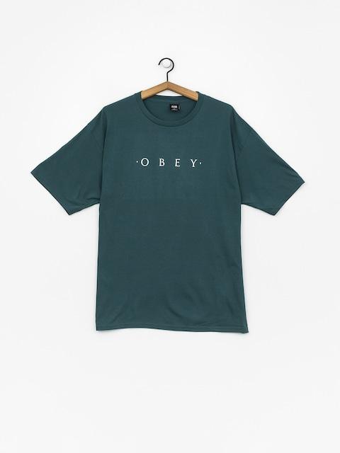 Tričko OBEY Novel Obey (pine)