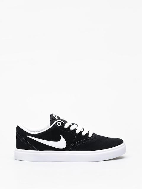 Boty Nike SB Check Solar Wmn (black/white)
