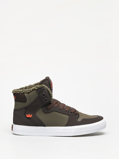 Boty Supra Vaider (demitasse/olive night white)