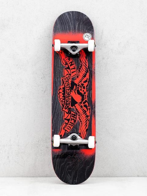 Skateboard Antihero Stencil Eagle (black/red)