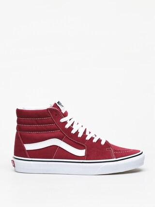 Boty Vans Sk8 Hi (rumba red/true white)