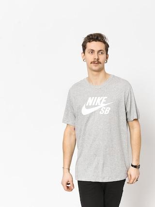 Tričko Nike SB Sb Dri Fit (dk grey heather/white)
