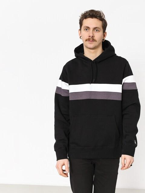 Mikina s kapucí Nike SB Sb Icon Stripes HD (black/white/thunder grey/thunder grey)