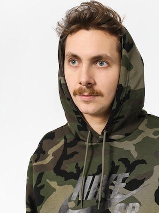 Mikina s kapucí Nike SB Sb Icon Erdl HD (medium olive/medium olive/black)