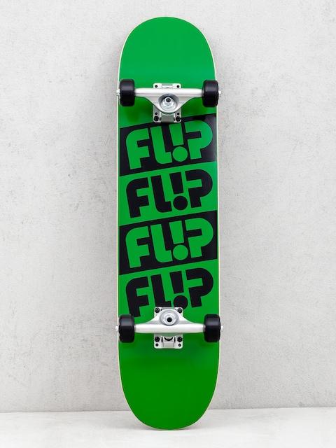 Skateboard Flip Team Quattro (odyssey green)