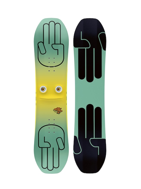 Snowboard  Set Bataleon Snowboard Minishred (black/mint)