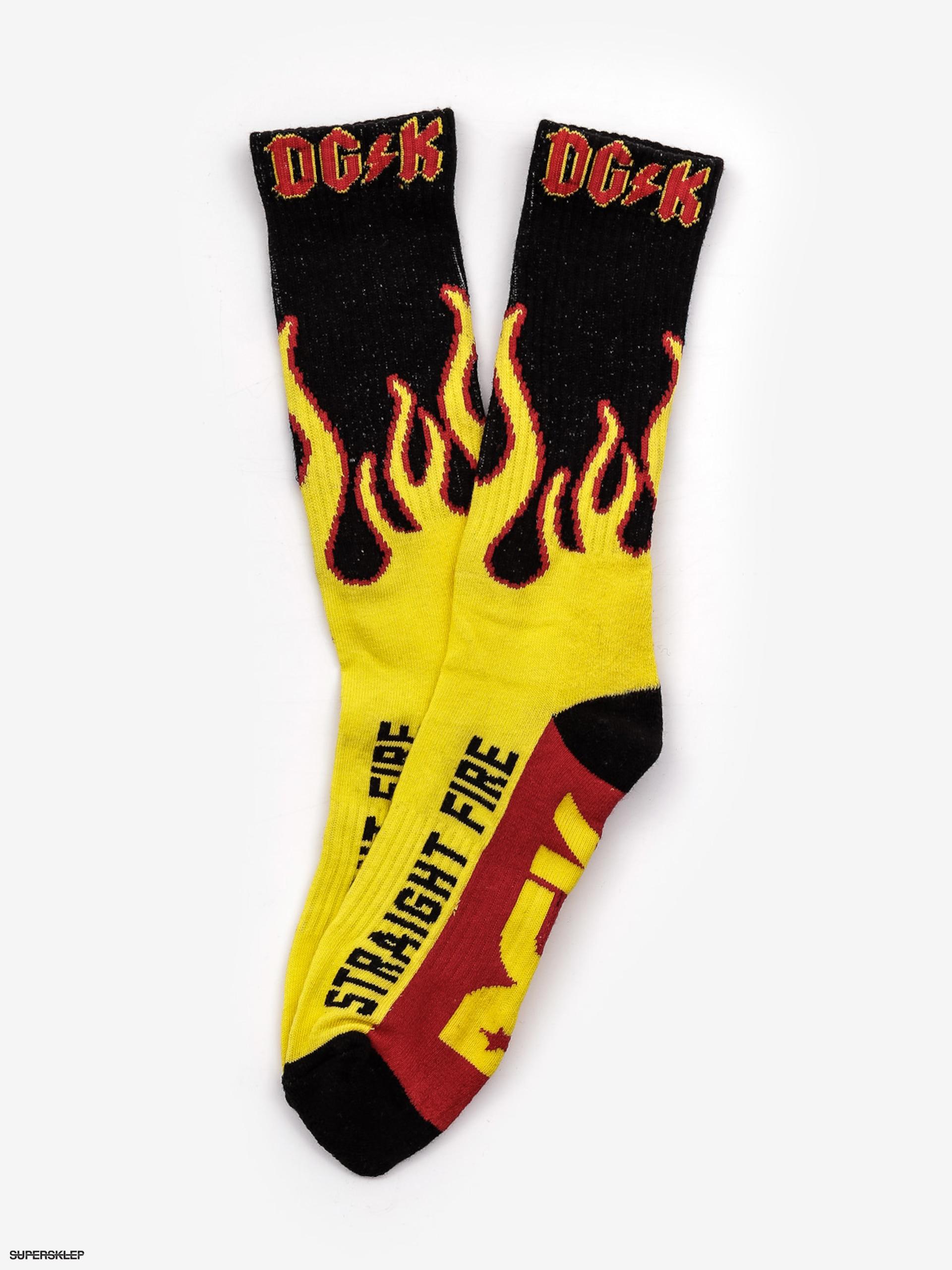 c51c6935e0bf8 Ponožky DGK Crew Sock Pair (yellow)
