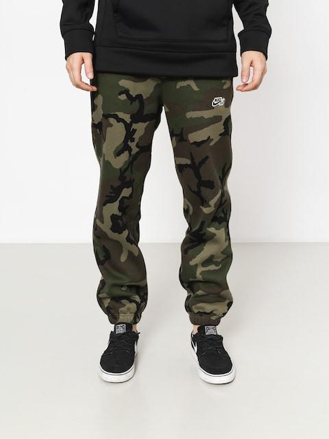 Kalhoty Nike SB Sb Icon Erdl (medium olive/black)