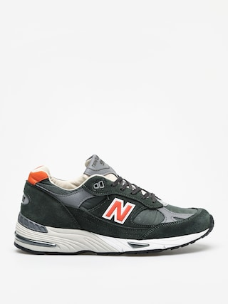 Boty New Balance 991 (green/orange)
