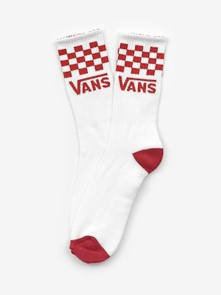 Ponožky Vans Checker Crew (chili peper)