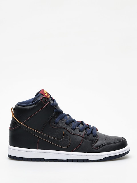 Boty Nike SB Dunk High Pro Nba (black/black college navy team red)