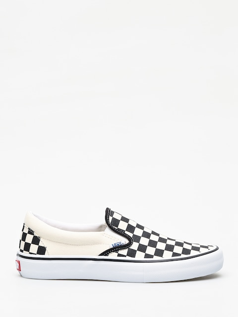 Boty Vans Slip On Pro (checkerboard/black/white)