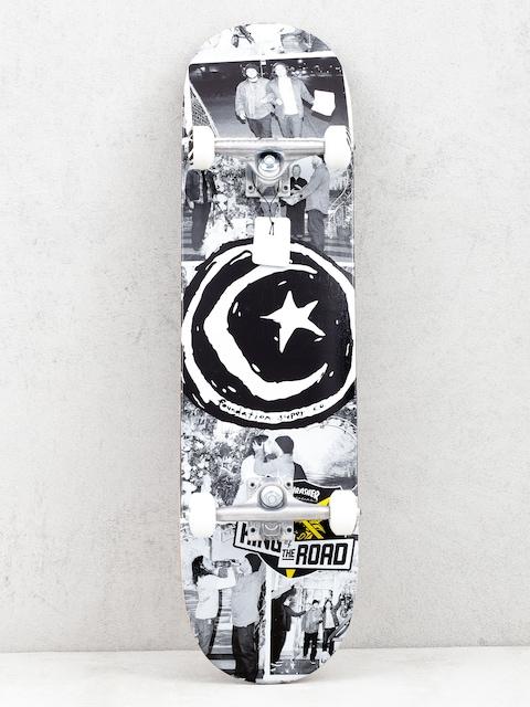 Skateboard Foundation Kotr Wedding (black/white)