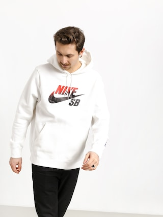 Mikina s kapucí Nike SB Sb Icon Nba HD (white/university red)