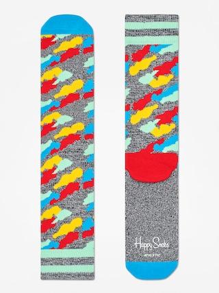 Ponou017eky Happy Socks Athletic Cloud (heather grey/blue/multi)