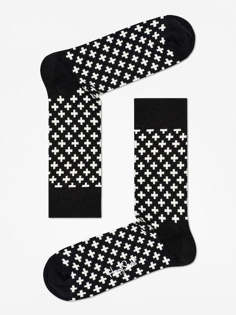 Ponožky Happy Socks Plus (black/white)