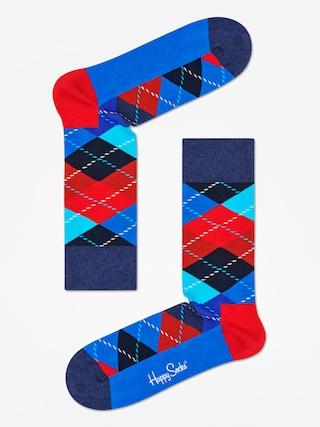 Ponou017eky Happy Socks Argyle (black/blue/red)