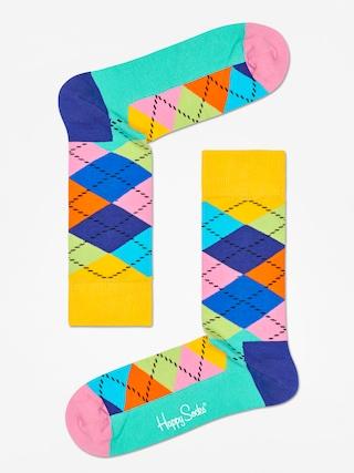 Ponožky Happy Socks Argyle (yellow/blue/green)