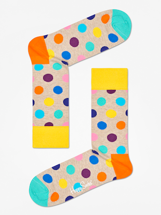 Ponožky Happy Socks Big Dot (sand/multi)
