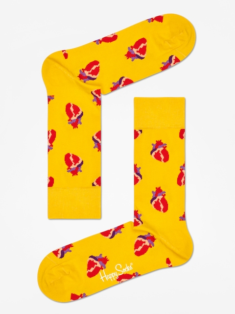 Ponožky Happy Socks True Love (yellow/red)