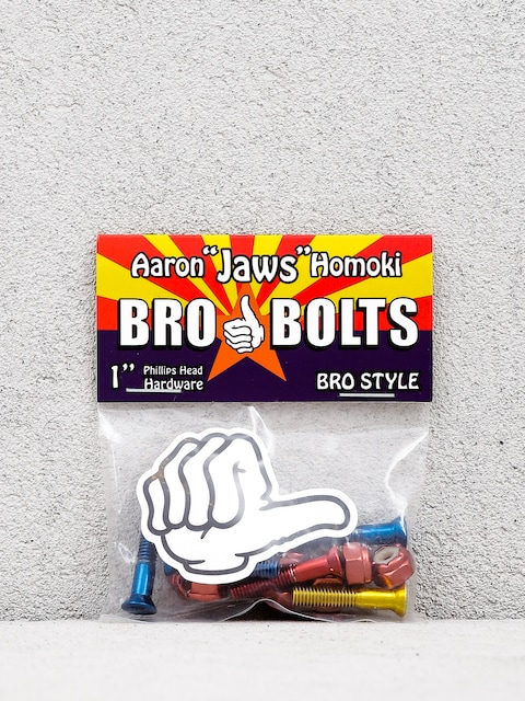 Šroubky Bro Style Aaron Jaws Homoki Phillips (red/blue/yellow)