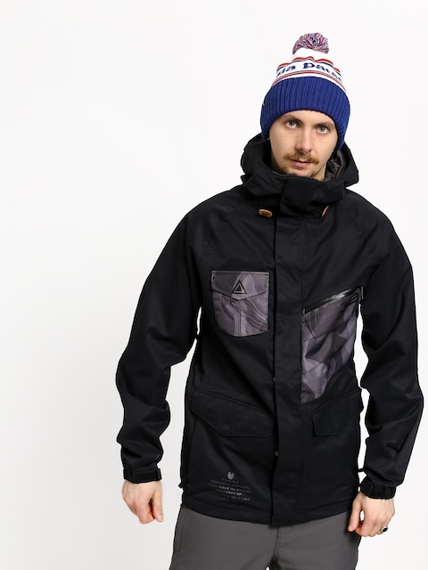 Snowboardová bunda ThirtyTwo Surplus (black)