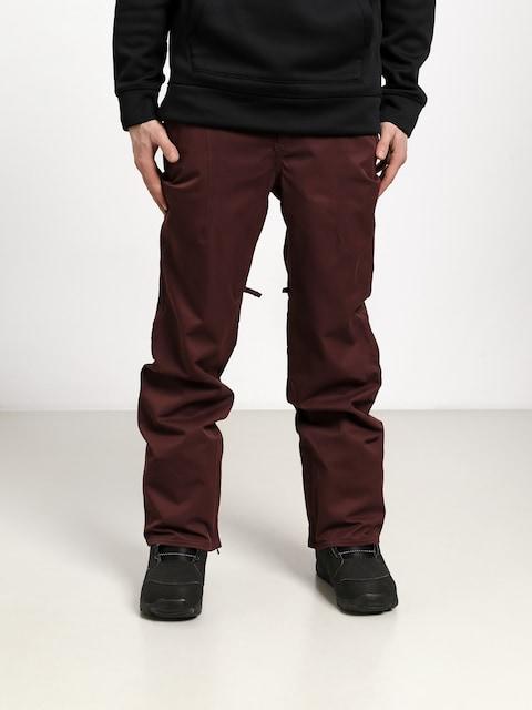 Snowboardové kalhoty  ThirtyTwo Essex (burgundy)