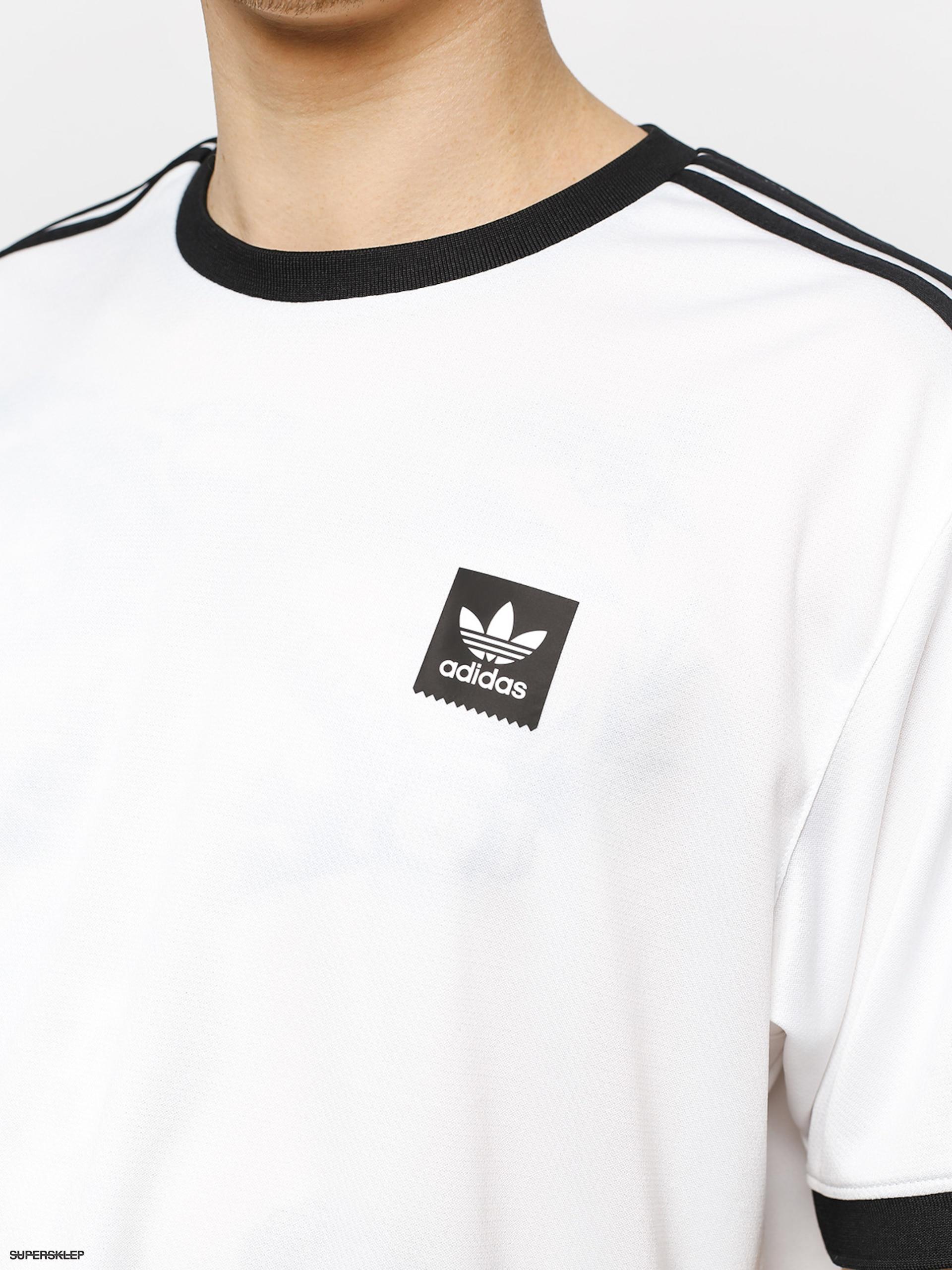 0fa6f5bb05 Tričko adidas T-shirt Club Jersey (white black)